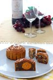 Mooncakes chineses Imagens de Stock Royalty Free