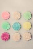 Mooncakes de peau de Milou Mi nourritures chinoises de festival d'automne Traditi Photographie stock