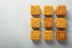 Mooncakes del chino tradicional imagen de archivo libre de regalías