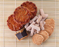 Mooncakes and Pastry Royalty Free Stock Images