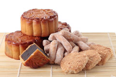 Mooncakes and Pastry Stock Images