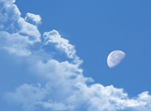 Moonday Royalty Free Stock Photos