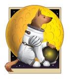 Moondog 免版税库存图片