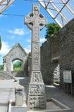 Moone高十字架,基尔代尔,爱尔兰 图库摄影