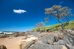 Moonee Beach Area  in Australia Stock Photo