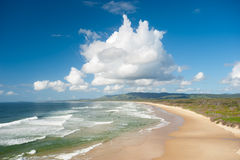 Moonee Beach - Australia Stock Image