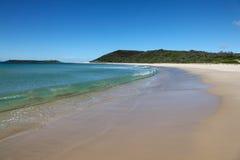 Mooneestrand - Meer Macquarie - Newcastle Australië Stock Fotografie