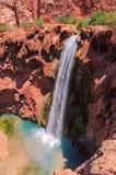 Mooney понижается в каньон Havasu, Supai, гранд-каньон, Аризону стоковое фото