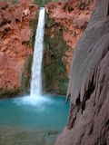Mooney Falls. Havasu Mooney Falls Stock Photography