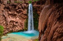 Mooney Falls - Grand Canyon West - Arizona Royalty Free Stock Photo