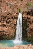 Mooney Falls - Havasupai Reservation stock images