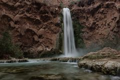 Mooney Falls royalty free stock photography