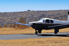 Mooney M-20 - Closer Stock Photo