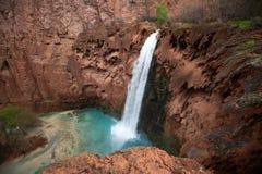 MooneyFalls Arizona septentrional imagenes de archivo