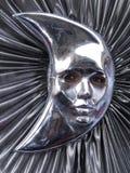 Moonface imagen de archivo libre de regalías