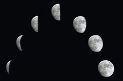 moonfaser Royaltyfria Bilder