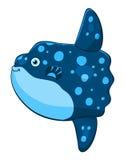 Moonfish шаржа Стоковая Фотография