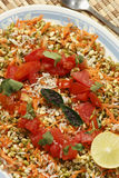 Moong Dal gajjar chaat from India Stock Images