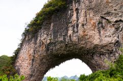 Moonhill china formation Stock Images
