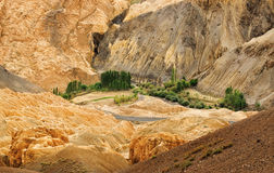 Moonland, Ladakh, Jammu and Kashmir, India Royalty Free Stock Photography
