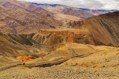 Moonland, Ladakh, Jammu and Kashmir, India Stock Photos