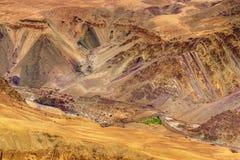 Moonland, Ladakh, Jammu and Kashmir, India Royalty Free Stock Photo