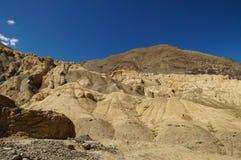 Moonland Landscape in Lamayuru at Leh Ladakh, India Stock Photo