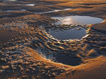 Moonlandscape royalty-vrije stock afbeeldingen
