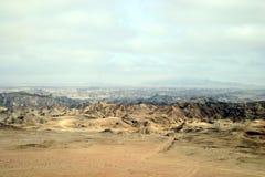 Moonlandscape Namíbia Foto de Stock Royalty Free