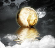 Moonlight royalty free stock images