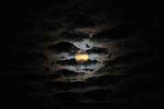 Free Moonlight Among Clouds Royalty Free Stock Photo - 10472905
