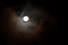 Full Moon, One Of The Phases Of The Lunar Cycle Stock Image