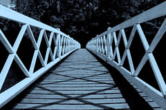 Moonlight Brigde Stock Photos