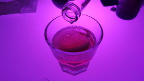 Moonlight drink Stock Image