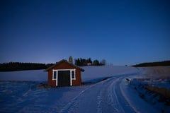 Moonlight landscape Royalty Free Stock Photography