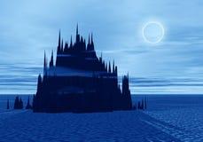 moonlight mountain Στοκ Εικόνες