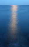 Moonlight over sea Royalty Free Stock Image