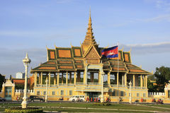 Moonlight Pavailion, Royal Palace, Phnom Penh, Cambodia Stock Photo