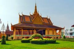 The Moonlight Pavilion, Royal Palace Pnom Penh, Cambodia. The Moonlight Pavilion, Royal Palace exterior in Phnom Penh, Cambodia Royalty Free Stock Photography