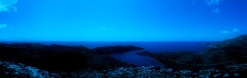 Moonlight scene Royalty Free Stock Image