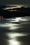 Moonlight by the Sea Royalty Free Stock Photography
