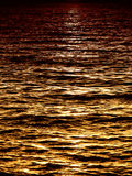 Moonlight at the sea (1) Royalty Free Stock Photo