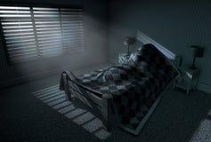 Moonlight Sleep In vector illustration
