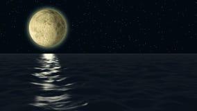 Moonlight stock video footage
