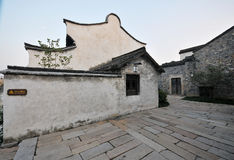 Moonlight wuzhen residence Royalty Free Stock Photos