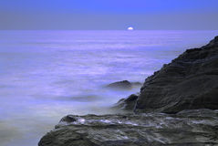 moonlit океан стоковое фото rf
