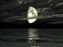 Moonlit Glow Royalty Free Stock Photo