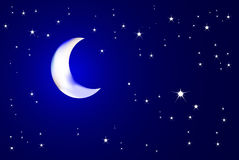 Free Moonlit Night Stock Images - 3752474
