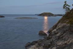 Moonlit night Stock Photo