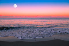 Moonrise Imagem de Stock Royalty Free
